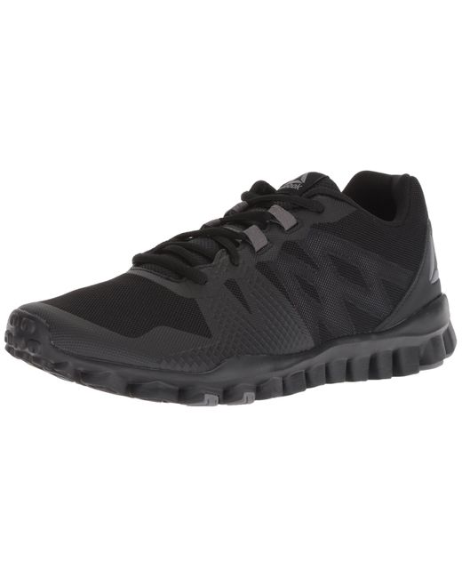 Reebok Black Realflex Train 5.0 Cross Trainer for men
