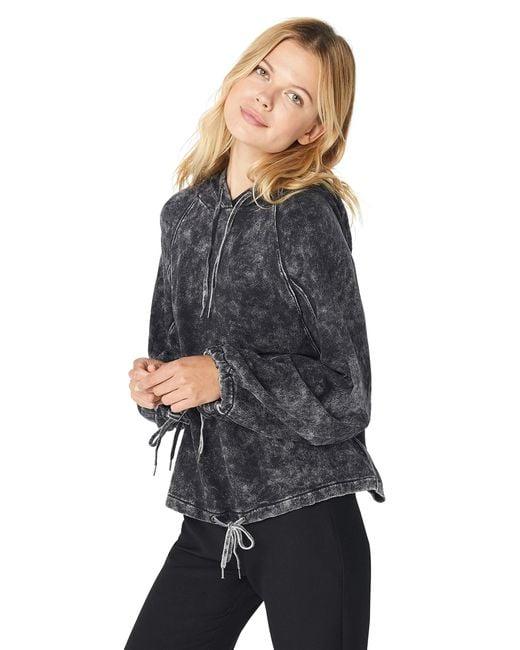 Splendid Black Active Hoodie Pullover
