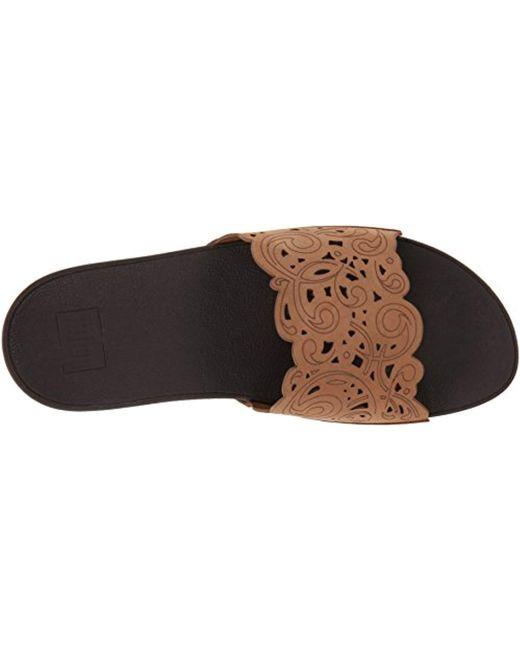 9d1c5ecebd8b6 Women's Brown Flora Slide Sandal
