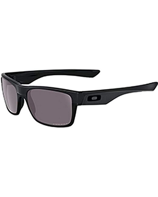 6ed4f44a07 Oakley - Black Twoface Oo9189-26 Polarized Rectangular Sunglasses for Men -  Lyst