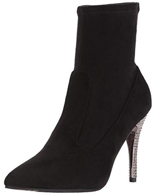 Nina - Black Roxie Ankle Bootie - Lyst