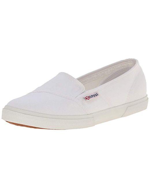 Superga White 2210 Cotu Fashion Sneaker