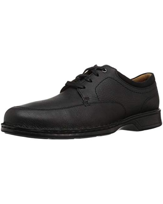 Clarks Black Northam Pace Oxford for men