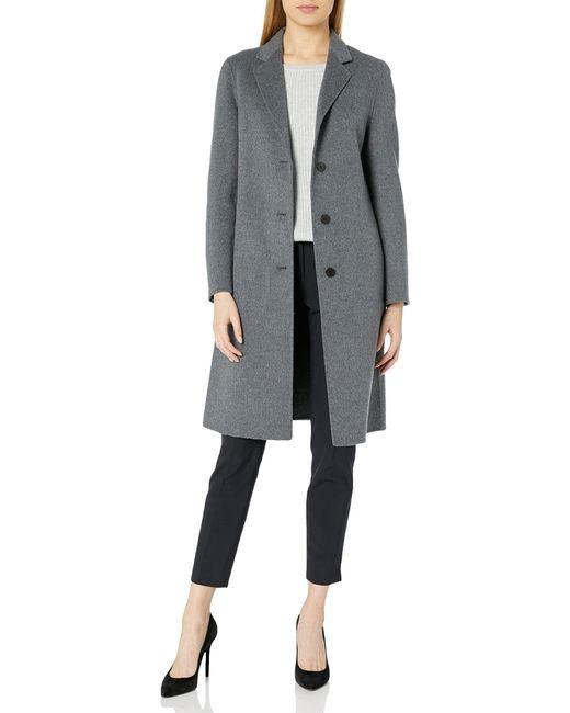 Theory Gray Classic Coat