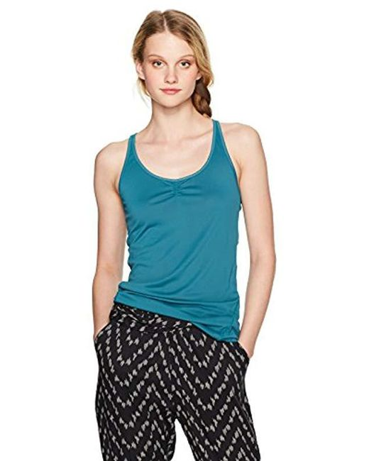 76d18be00d Lyst - Roxy Wild Soul Tank in Blue - Save 16%