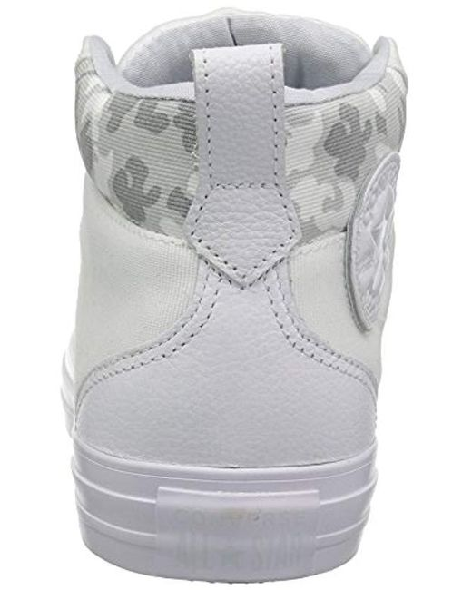 2954ceef0b17 ... Converse - White Chuck Taylor All Star Street Mid Sneaker for Men - Lyst  ...