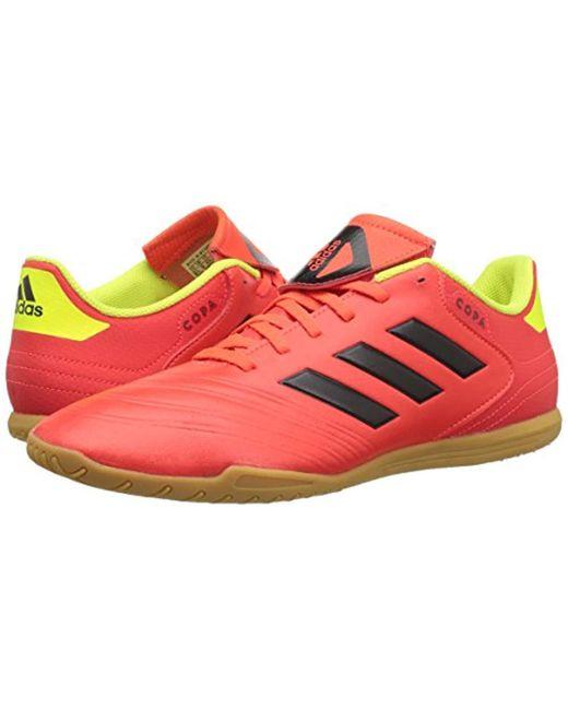 55c4133cb ... Adidas - Red Copa Tango 18.4 Indoor Soccer Shoe for Men - Lyst ...