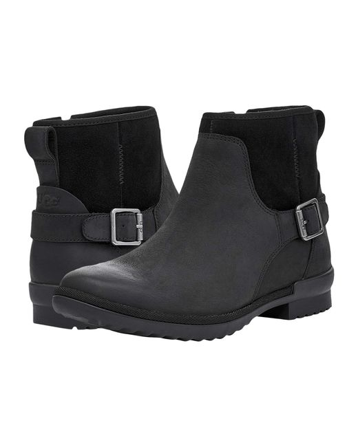 Ugg Black Womens Selima Ankle Boot