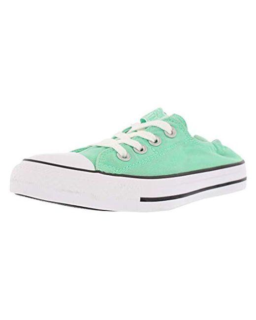 511e18be6e94cb Converse - Green Chuck Taylor All Star Shoreline Low Top Sneaker - Lyst ...