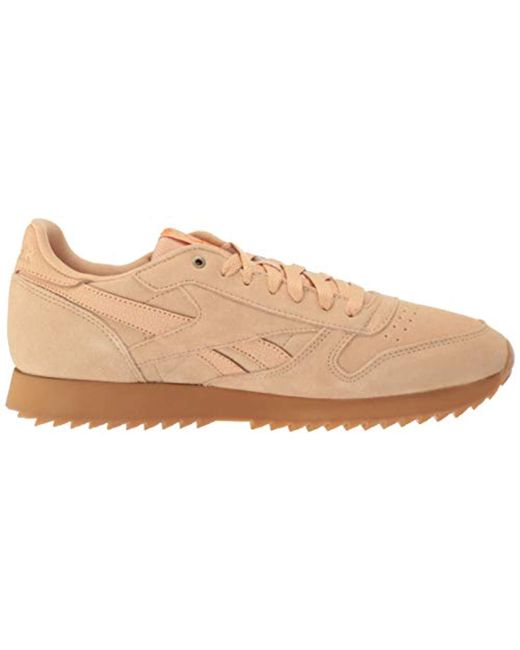 bd9bfce1e9aa4 Men's Classic Leather Sneaker, Cappuccino/pure Orange/gum, 11 M Us
