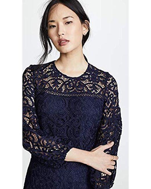 Womens Blue Vina Dress