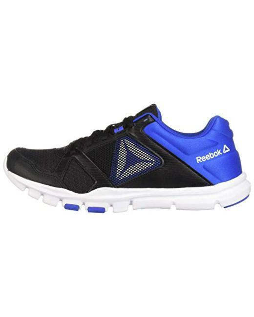 01e503623374a Men's Blue Yourflex Train 10 Cross Sneaker