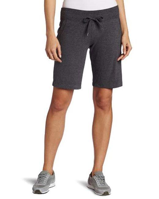 Danskin Gray Essential Bermuda Short