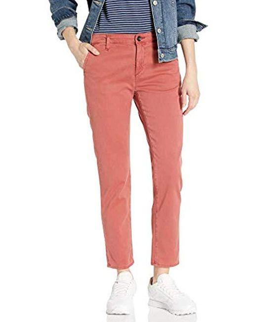 AG Jeans Red Caden Trouser