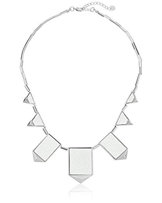 """House of Harlow 1960 - Multicolor Classic Station Pyramid Necklace, 18-20"""" - Lyst"""