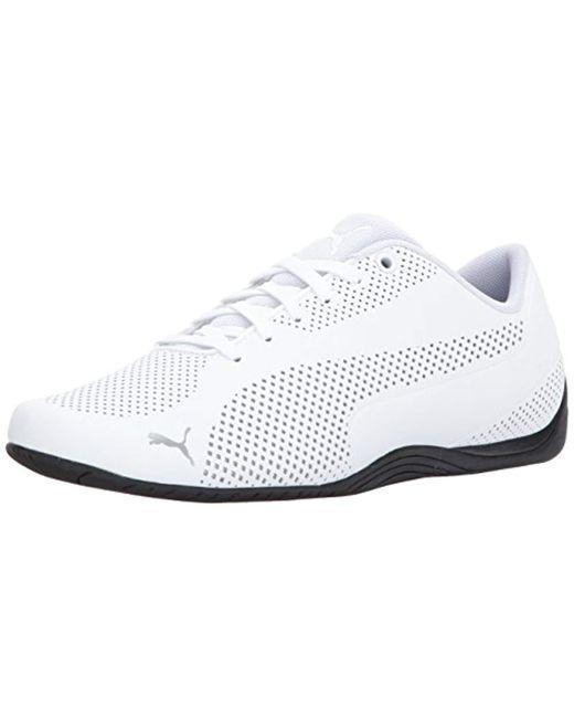 PUMA White 's Drift Cat Ultra Reflective Sneaker for men