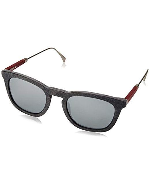 fe98d4563481c Tommy Hilfiger - Multicolor Th1383s Rectangular Sunglasses, Grypttrrt, 51  Mm for Men - Lyst ...