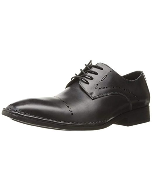 Kenneth Cole - Gray Split Second Oxford for Men - Lyst