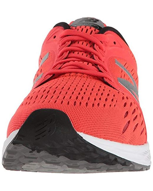 Men's Red Zante V4 Fresh Foam Running Shoe
