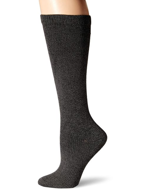 Dr. Scholls Gray Travel Knee High Socks With Graduated Compression