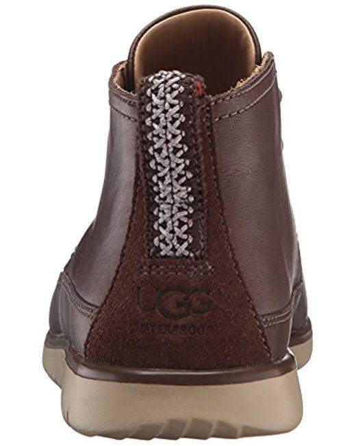 ad6a6d52001 Men's Brown Freamon Waterproof Chukka Boot