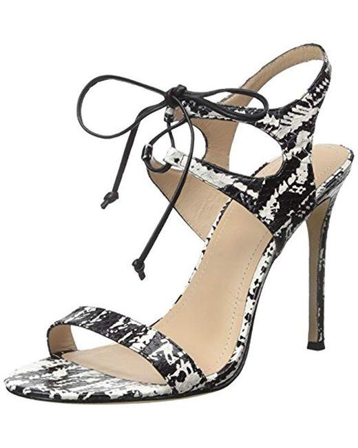 296cbdec5c6550 Pour La Victoire - Black Elisa Dress Sandal - Lyst ...
