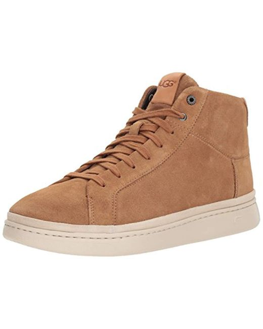 Ugg - Brown Cali Lace High Sneaker for Men - Lyst
