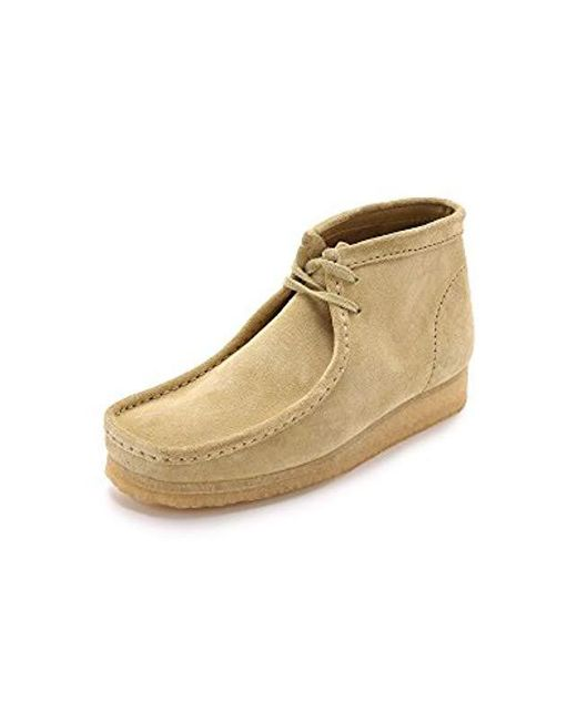 Clarks - Natural Wallabee Boot for Men - Lyst