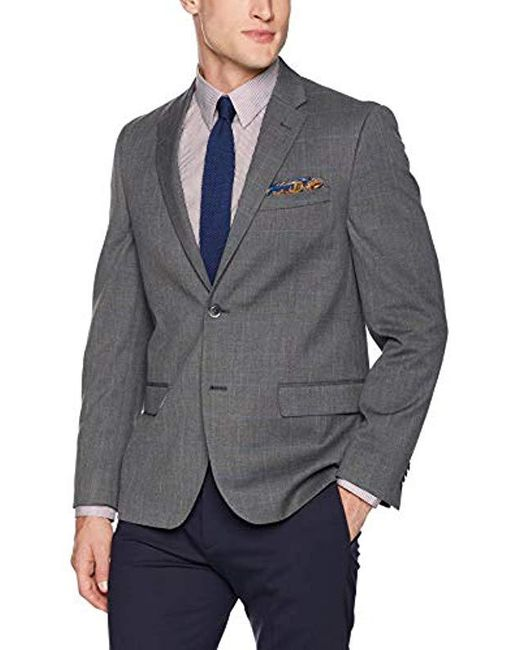 Ben Sherman - Gray Modern Fit Suit Separate (blazer And Pant) for Men - Lyst