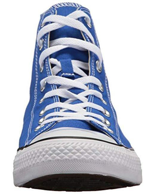 57fca55ccb59ea ... Converse - Blue Chuck Taylor All Star Seasonal Canvas High Top Sneaker  - Lyst ...