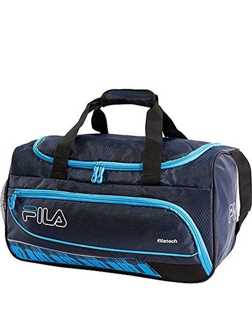 Fila - Blue Lasers Small Sports Duffel Bag Gym Bag for Men - Lyst