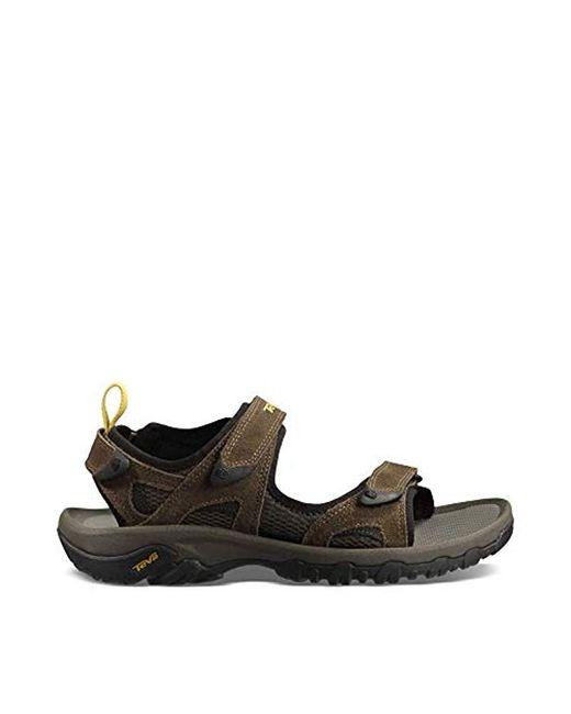 Teva Brown Katavi Outdoor Sandal for men