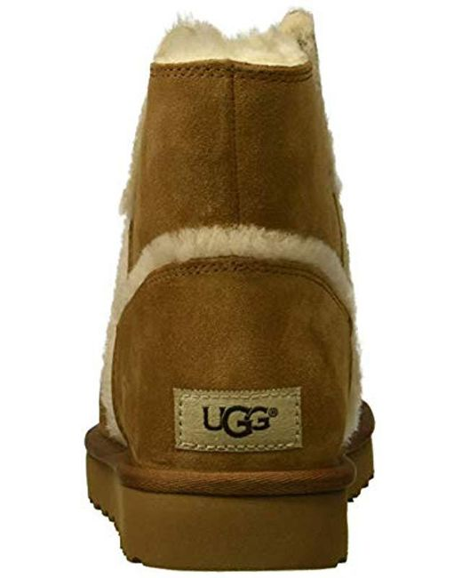 4d75181e887 Women's Brown W Classic Mini Spill Seam Fashion Boot