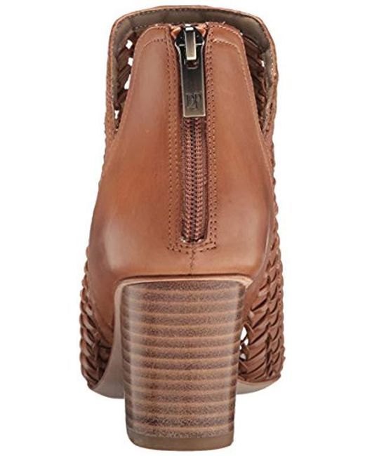 db0a289b00a5 Lyst - Donald J Pliner Jacqi Wedge Sandal in Brown - Save ...