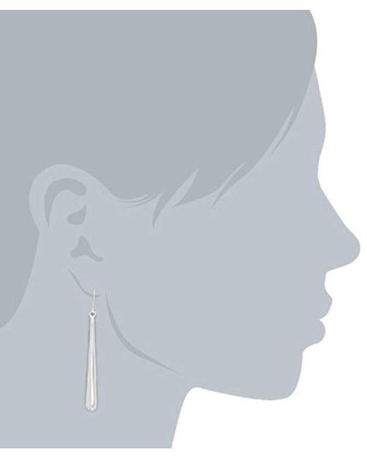 Kenneth Cole - Metallic Shiny Earrings Stick Linear Earrings - Lyst