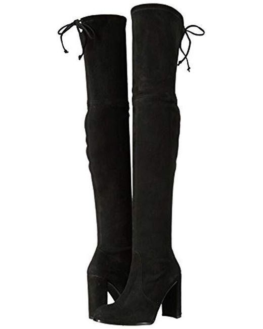 812ff512cfe Lyst - Stuart Weitzman Hiline Over The Knee Boot in Black - Save 43%