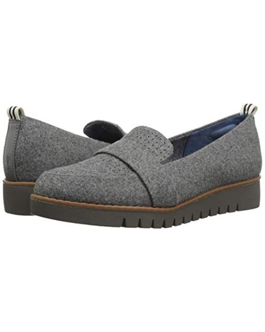 ecd165d4e69 ... Dr. Scholls - Gray Imagined Perf Loafer - Lyst ...