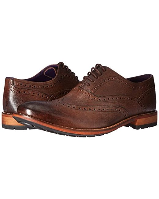 a9f146062 ... Ted Baker - Guri 8 Leather Brogues Brown for Men - Lyst ...