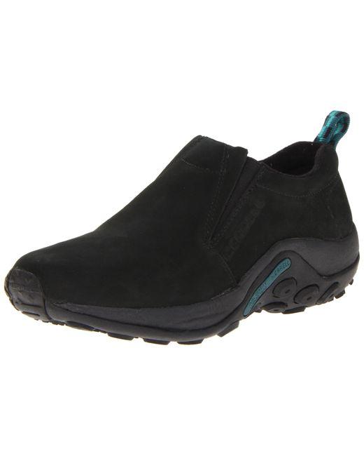 Merrell Jungle Moc Nubuck Slip-on Shoe,black,8 M Us