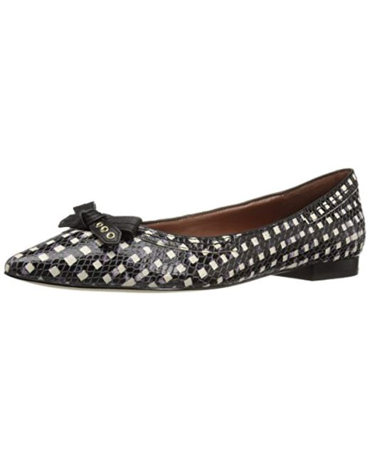 6bd1e9109 Cole Haan - Multicolor Alice Bow Skimmer Pointed Toe Flat - Lyst ...