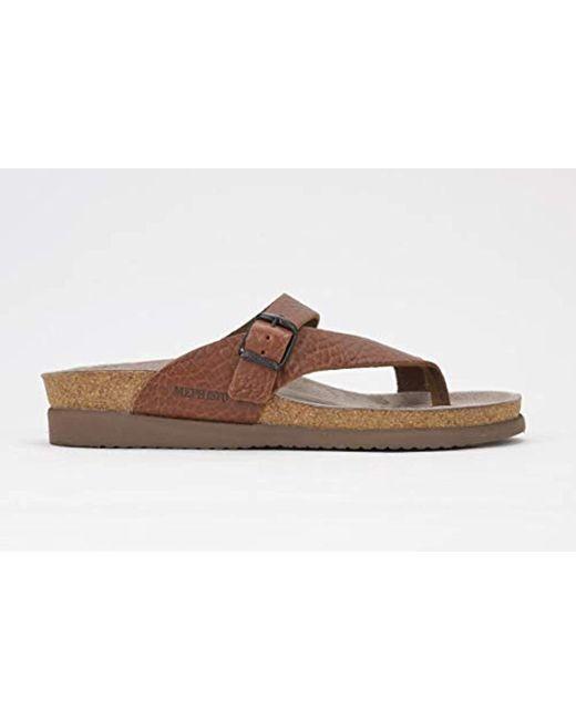 91cfc677c030 Mephisto - Brown Helen Thong Sandals - Lyst ...