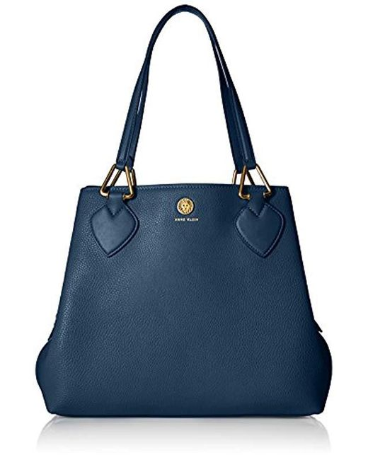 Anne Klein - Blue A Hinge Large 4 Poster - Lyst