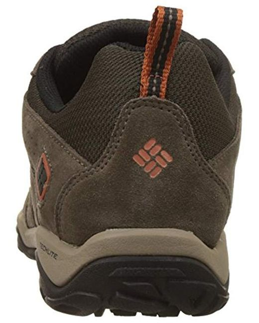 426ba050278 Lyst - Columbia North Plains Drifter Waterproof Hiking Shoes for Men ...