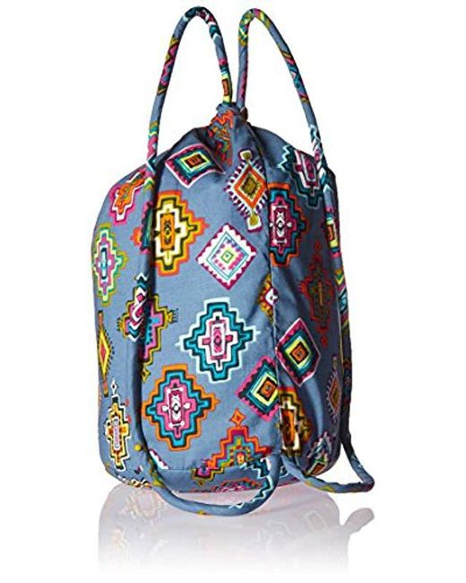 Lyst - Vera Bradley Iconic Ditty Bag in Blue - Save 7% 424df6e77551b