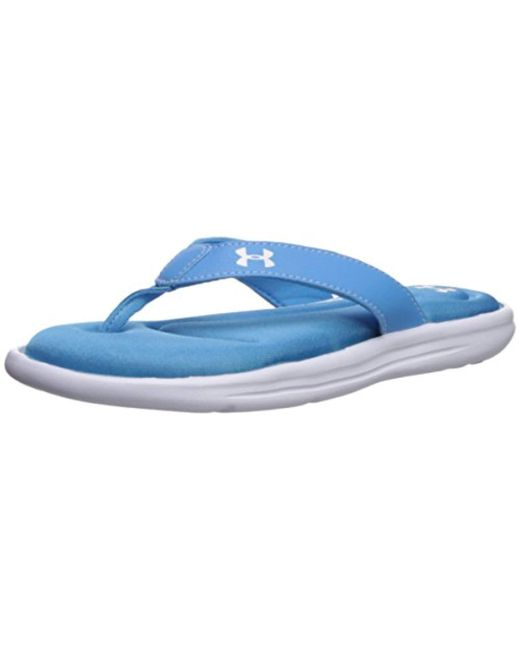 Under Armour - Blue Marbella Vi Thong Sneaker - Lyst