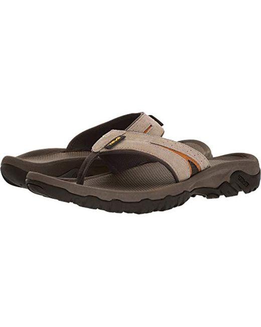 Teva Brown Katavi 2 Sandal for men