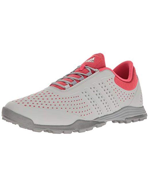 Adidas Pink Adipure Sport Golf Shoe