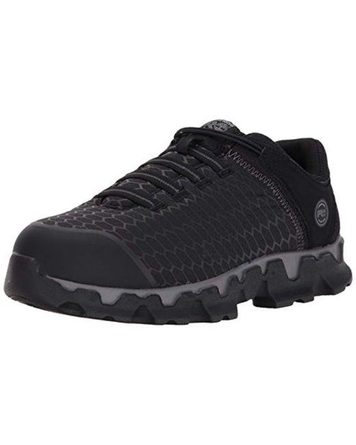 Timberland - Black Powertrain Sport Slip On Alloy Toe Sd+ Industrial & Construction Shoe for Men - Lyst