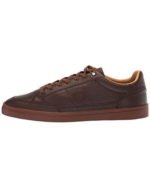aa3082bd72f7a Men's Brown Deuce Premium Leather Sneaker