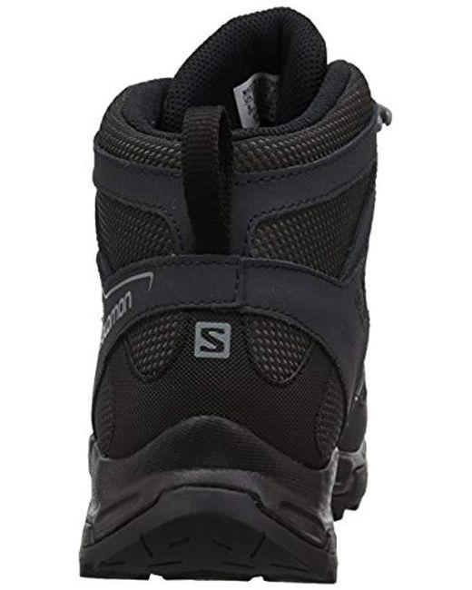 7d5683ba Men's Black Pathfinder Mid Cswp M Walking Shoe